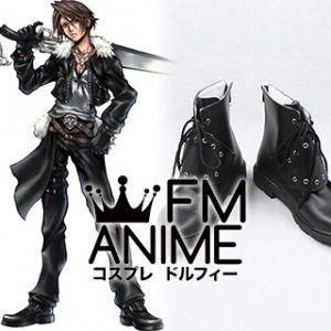 Final Fantasy VIII Squall Leonhart Cosplay Shoes Boots