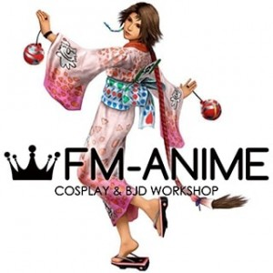 Final Fantasty X-2 Yuna Kimono Cosplay Costume