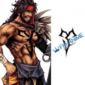 Final Fantasy X Jecht Cosplay Tattoo Stickers