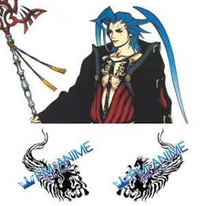 Final Fantasy X Seymour Guado Cosplay Tattoo Stickers