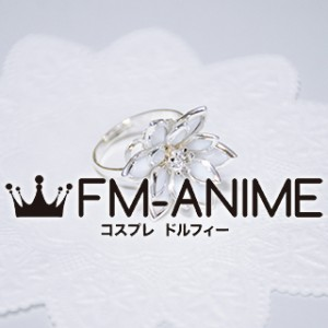 Final Fantasy X Yuna Flower Ring Metal Cosplay Accessories
