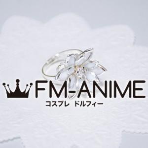 Final Fantasy X Yuna Flower Ring Metal Cosplay Accessories