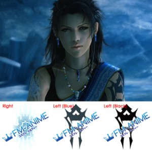 Final Fantasy XIII Oerba Yun Fang Cosplay Tattoo Stickers