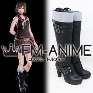 Final Fantasy XV Iris Amicitia Cosplay Shoes Boots