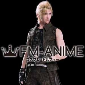 Final Fantasy XV Prompto Argentum Cosplay Wig