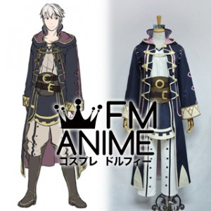 Fire Emblem Awakening / Super Smash Bros. 4 Robin (Male Avatar) Cosplay Costume #1