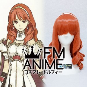 Fire Emblem Echoes: Shadows of Valentia Celica Cosplay Wig