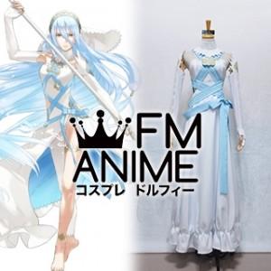 Fire Emblem Fates Azura Hoshido Version White Dress Cosplay Costume
