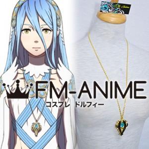 Fire Emblem Fates Azura Metal Necklace Cosplay Accessories