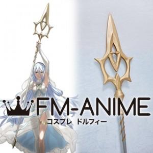 Fire Emblem Fates Azura Staff Cosplay Weapon Prop
