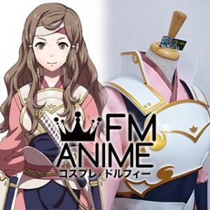 Fire Emblem Fates Hana Kazahana Cosplay Costume Prop Armor