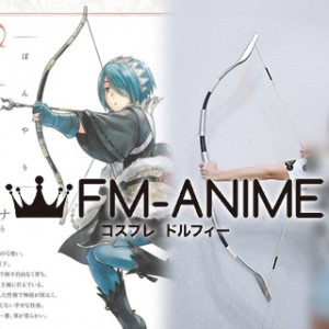[Display] Fire Emblem Fates Setsuna Bow & Arrow Cosplay Weapon Accessories Prop