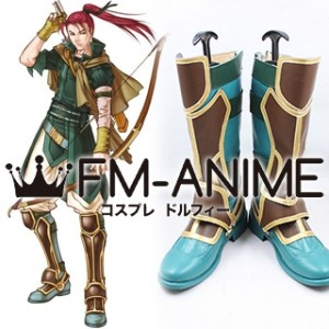 Fire Emblem: Path of Radiance Shinon Cosplay Shoes Boots
