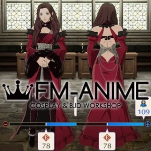 Fire Emblem: Three Houses Dorothea After 5 Year Time Skip Dress Cosplay Costume Prop