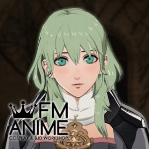 Fire Emblem: Three Houses Female Byleth Light Green Cosplay Wig