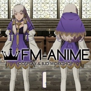 Fire Emblem: Three Houses Lysithea War Outfit Cosplay Costume