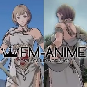 Fire Emblem: Three Houses Mercedes von Martritz After 5 Year Time Skip Cosplay Wig