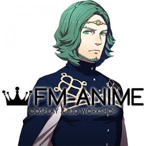 Fire Emblem: Three Houses Seteth Green Cosplay Wig