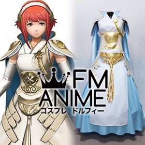 Fire Emblem Warriors Sakura Priestess Cosplay Costume