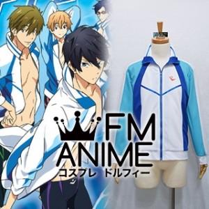 Free! - Iwatobi Swim Club Iwatobi High School Swimming Club Sportswear Uniform Cosplay Costume (Male S)