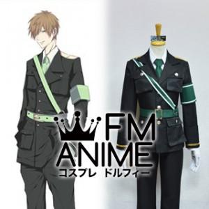Free! - Iwatobi Swim Club Makoto Tachibana Dojin Military Uniform Cosplay Costume