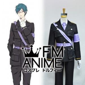 Free! - Iwatobi Swim Club Rei Ryugazaki Dojin Military Uniform Cosplay Costume