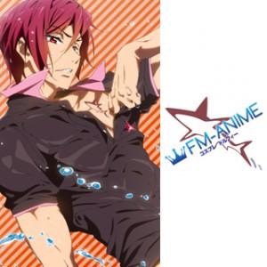 Free! - Iwatobi Swim Club Rin Matsuoka Cosplay Tattoo Stickers