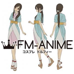 From the New World Saki Watanabe Kimono Dress Cosplay Costume