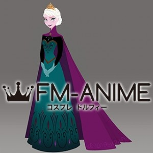 Frozen Elsa Coronation Dress Cosplay Costume