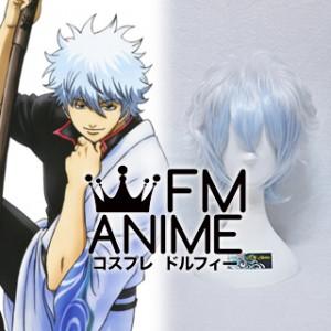 Gintama Gintoki Sakata Cosplay Wig