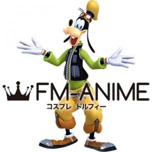 Kingdom Hearts III 3 Goofy Human Cosplay Costume