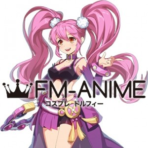 Grand Chase Dimensional Chaser Idol Star Amy Base Evolution Cosplay Wig