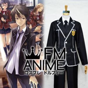 Guilty Crown Tennouzu High School Male Uniform Cosplay Costume