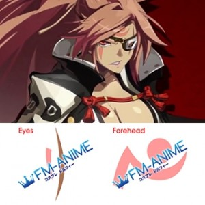 Guilty Gear Xrd- Revelator- Baiken Cosplay Tattoo Stickers