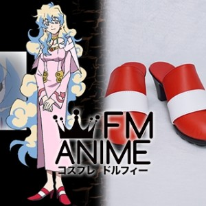 Gurren Lagann Nia Teppelin Cosplay Shoes