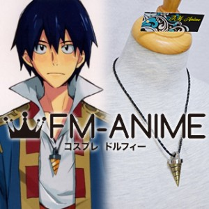 Gurren Lagann Simon Drill Metal Necklace Cosplay Accessories Prop