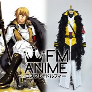 Hakuoki Kazama Chikage White Cosplay Costume