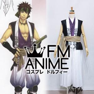 Hakuoki Shinsengumi Kitan Nagakura Shinpachi Kimono Cosplay Costume