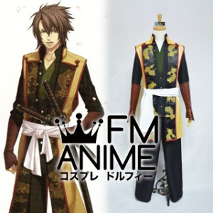 Hakuoki Souji Okita Cosplay Costume