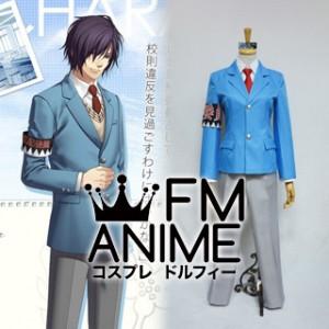 Hakuoki SSL Sweet School Life Toshizo Hijikata Uniform Cosplay Costume