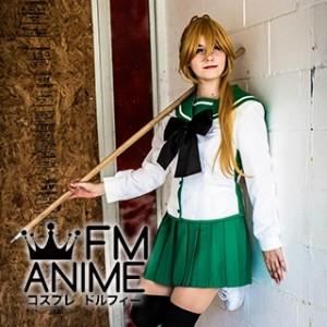 Highschool of the Dead Rei Miyamoto & Saya Takagi Female Uniform Cosplay Costume