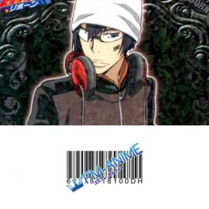 Hitman Reborn! Chikusa Kakimoto Cosplay Tattoo Stickers