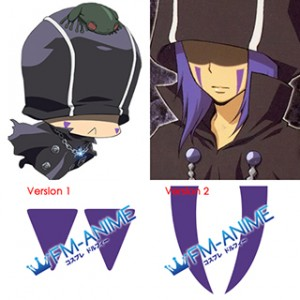 Hitman Reborn! Mammon Viper Cosplay Tattoo Stickers
