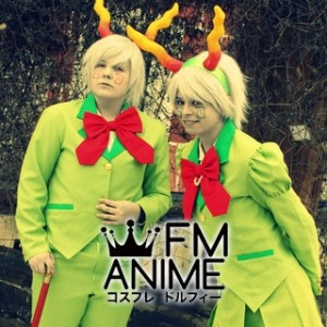 Homestuck Calliope & Caliborn Cosplay Costume
