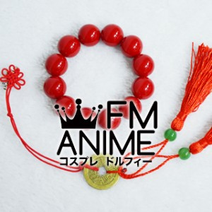 Hoozuki no Reitetsu Hakutaku Earring & Bracelet Cosplay