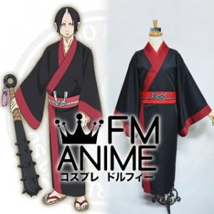 Hoozuki no reitetsu Hoozuki Kimono Cosplay Costume