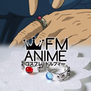 Howl's Moving Castle Howl & Sophie Metal Ring Cosplay Accessories