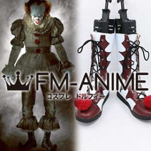 It (2017 film) Pennywise the Dancing Clown Cosplay Shoes Boots