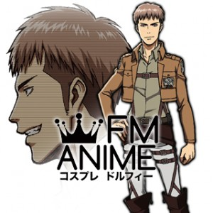 Attack on Titan Jean Kirstein Military Uniform Cosplay Costume