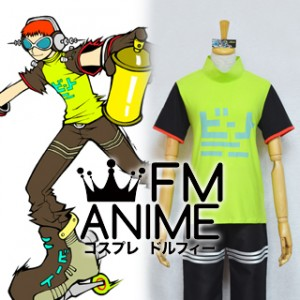 Jet Set Radio Future (JSRF) Beat Cosplay Costume